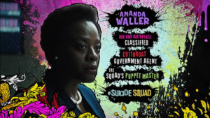 Advance Ticket Promos Amanda Waller Suicide Squad