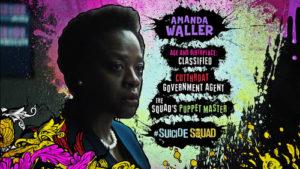 Advance Ticket Promos Amanda Waller Suicide Squad