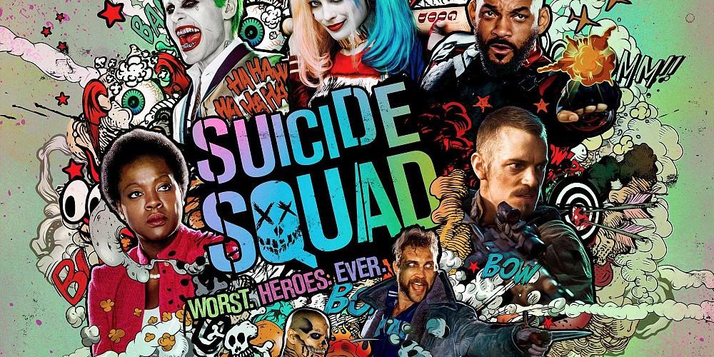 Suicide Squad Poster Art Title