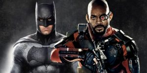 Will Smith As Deadshot & Ben Affleck As Batman
