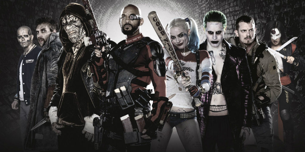 Suicide Squad Movie Characters Calendar