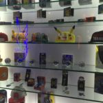 just a few of the items on display at the Pokemon Booth