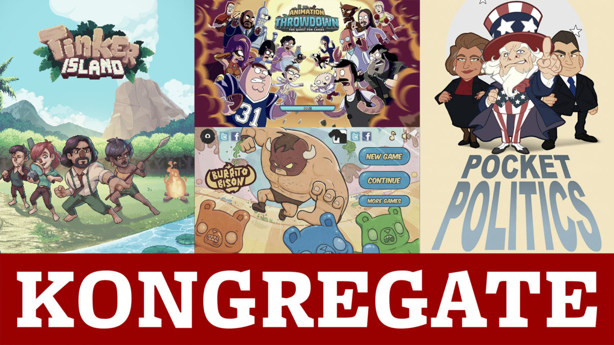 Kongregate, An Indie Game Incubator From GameStop