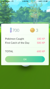 First catch of the Day Bonus!!